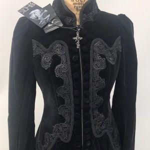 PunkRave Gothic Victorian Aristocrat Jacket